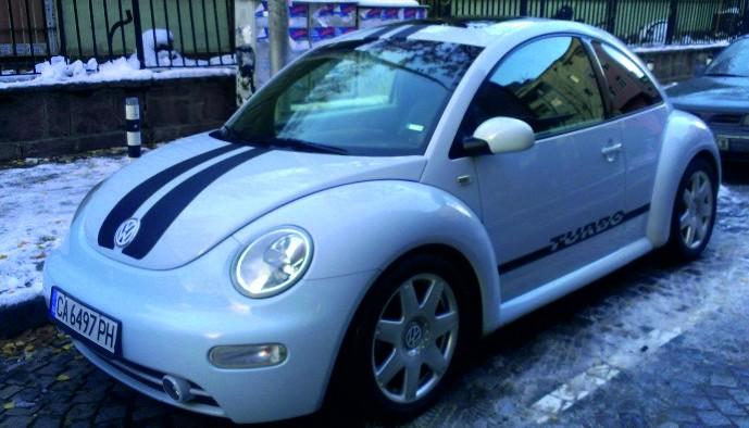 Брандиране на VW BEETLE